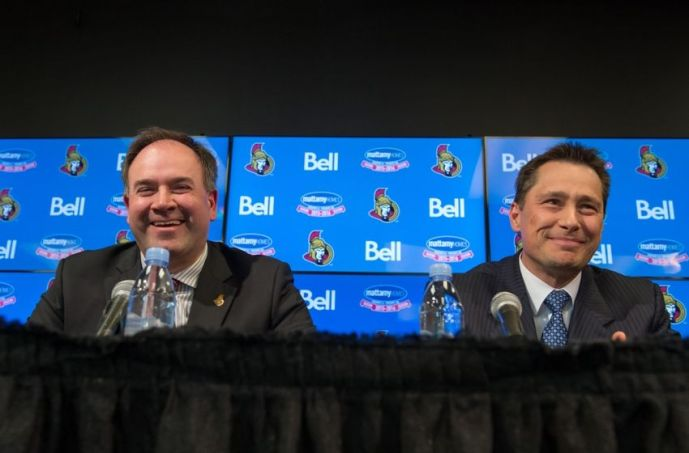 NHL: Ottawa Senators Press Conference